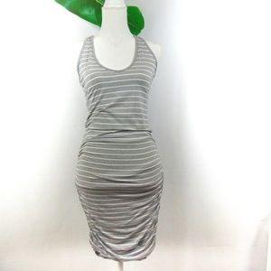 Athleta Striped Tank Racerback dress